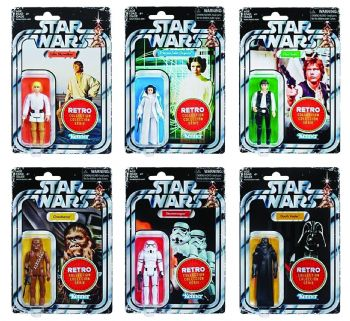 Star Wars Retro Collection 2019 - Full Set of 6 - Pre-Order